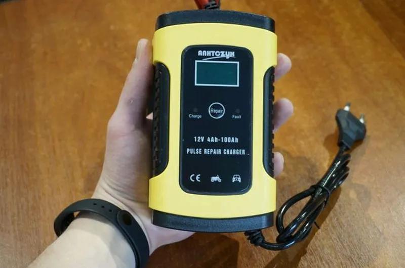 Умное зарядное устройство 12V 6A для аккумулятора автомобиля - Фото 3