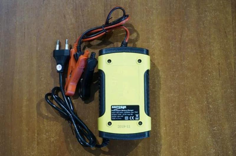 Умное зарядное устройство 12V 6A для аккумулятора автомобиля - Фото 5
