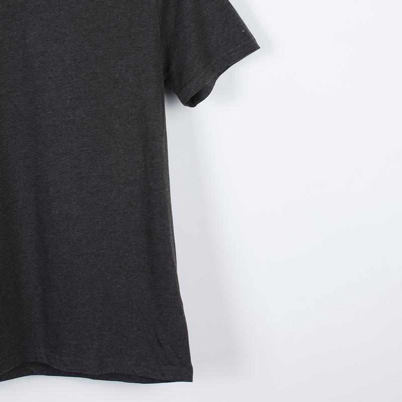 Базовая серая футболка, однотонная футболка оверсайз, футболка... - Фото 2