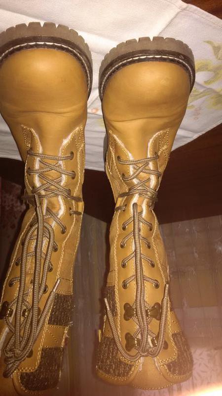 Женские зимние ботинки. - Фото 9