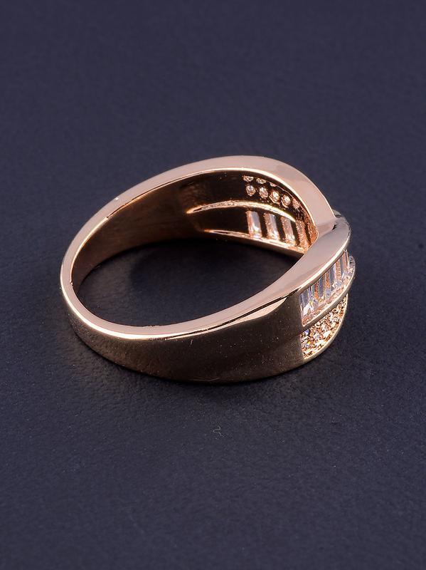 Кольцо 'big dipper' фианит (позолота 18к) 0562700 - Фото 3