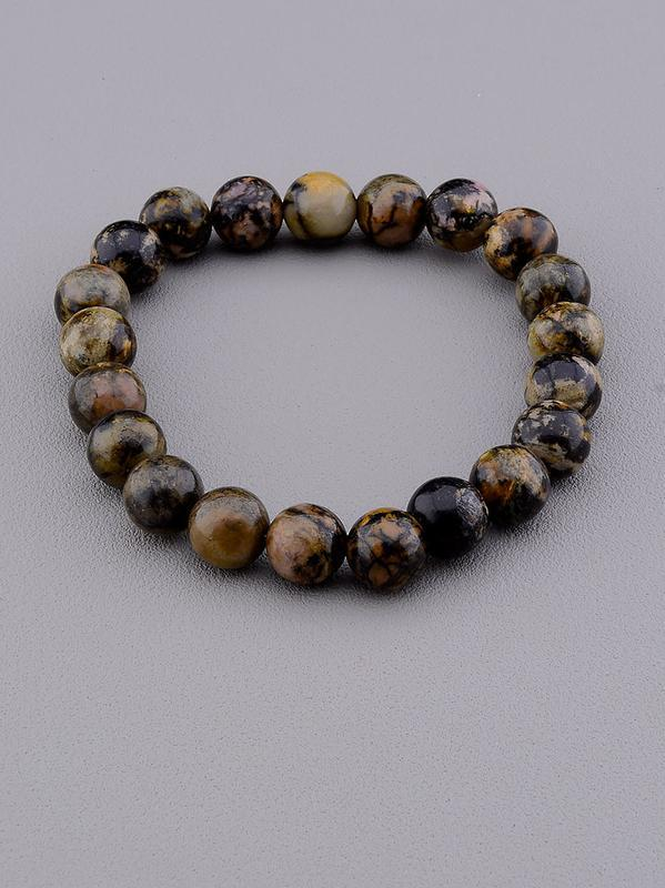 Браслет 'sunstones' родонит 18 см. 0707370
