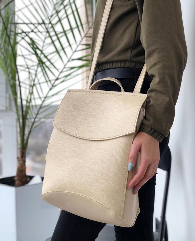 Рюкзак трансформер, молодежный городской рюкзак сумка, классич... - Фото 2