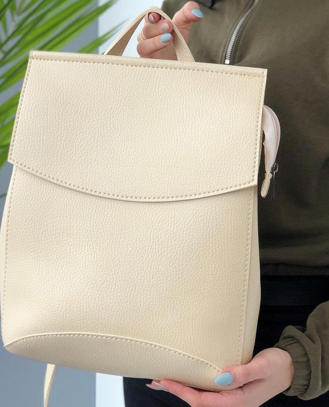 Рюкзак трансформер, молодежный городской рюкзак сумка, классич... - Фото 3