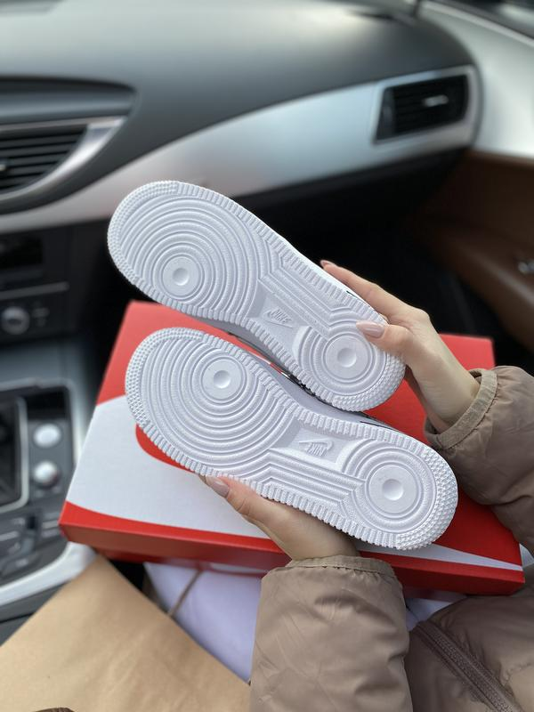 Шикарные женские кожаные кроссовки/ кеды nike 😍 (весна/ лето/ ... - Фото 4
