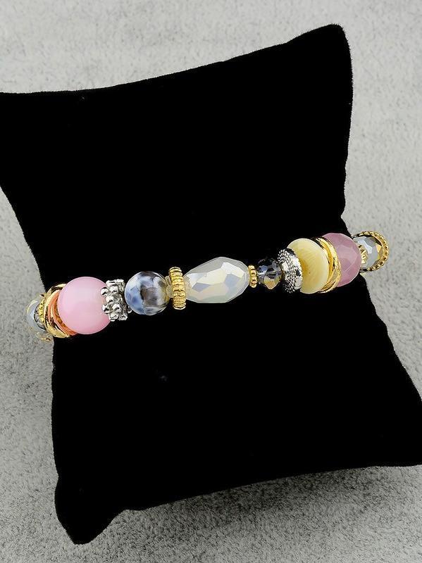 Браслет 'sunstones' самоцветы 18 см. 0508380 - Фото 2