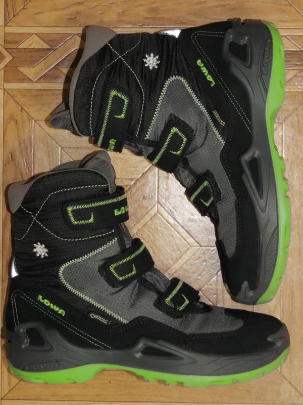Зимние ботинки сапоги lowa milo gore-tex{оригинал}р.34-35 - Фото 2