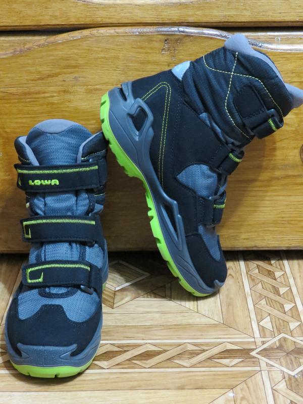 Зимние ботинки сапоги lowa milo gore-tex{оригинал}р.34-35 - Фото 3