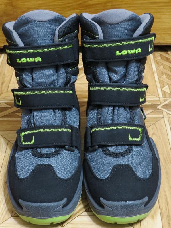 Зимние ботинки сапоги lowa milo gore-tex{оригинал}р.34-35 - Фото 5