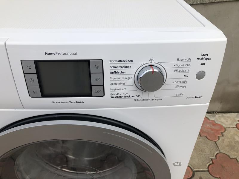 Стиральная машина с сушкой BOSCH WNAD60 на 8 кг(инвертор,пралка) - Фото 3