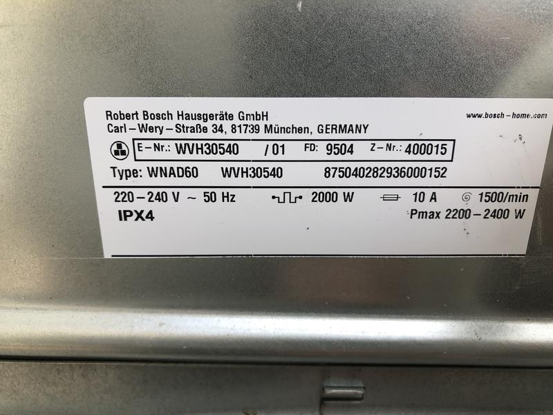Стиральная машина с сушкой BOSCH WNAD60 на 8 кг(инвертор,пралка) - Фото 7
