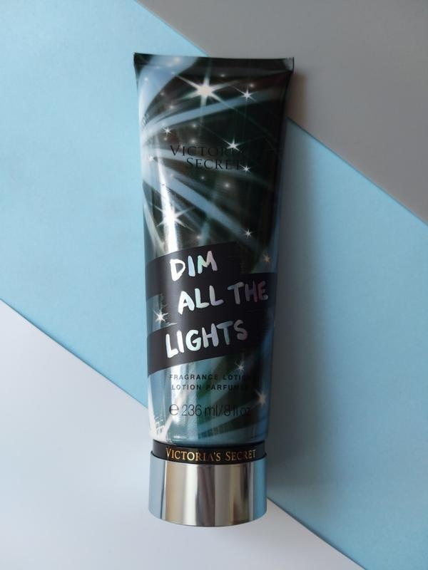 Victorias secret лосьон для тела dim all the lights виктория с...