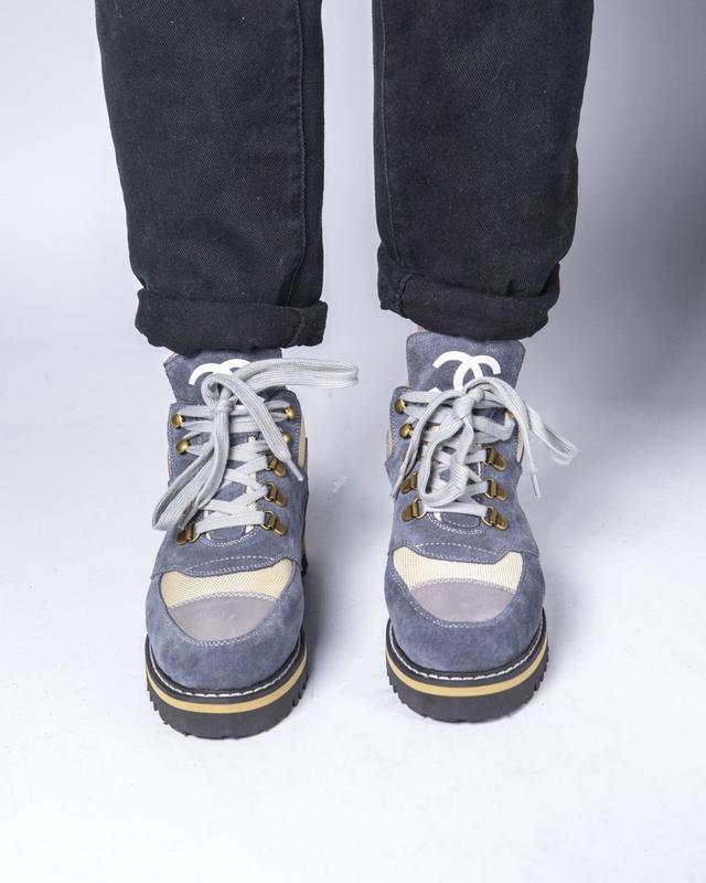 Lux качество! трендовые женские ботинки туфли chanel - Фото 3