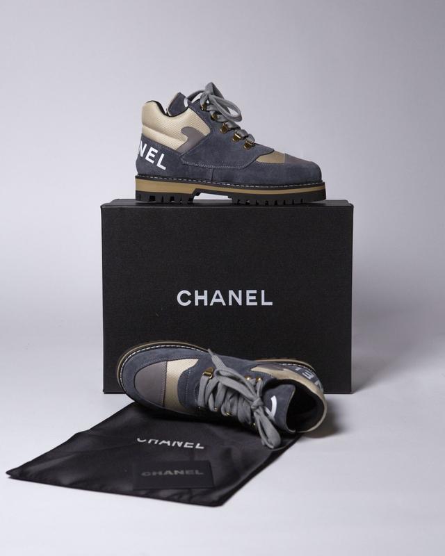 Lux качество! трендовые женские ботинки туфли chanel - Фото 6