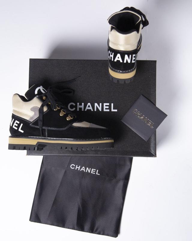 Lux качество! трендовые женские ботинки туфли chanel - Фото 7