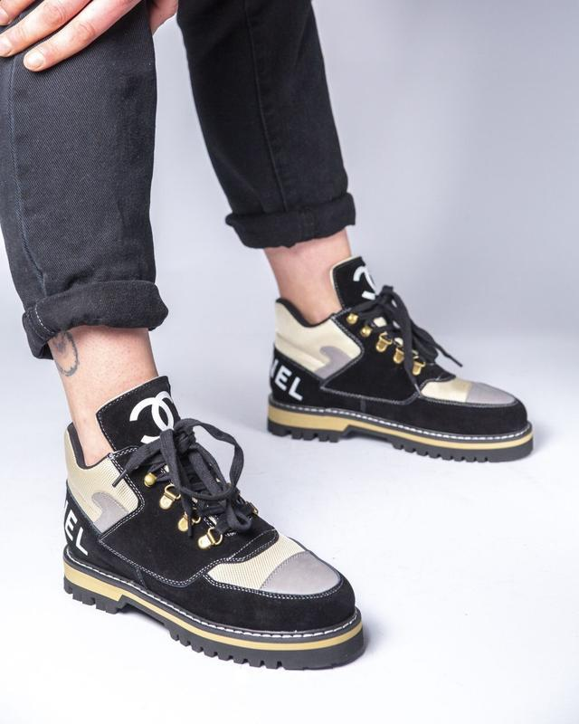 Lux качество! трендовые женские ботинки туфли chanel - Фото 8