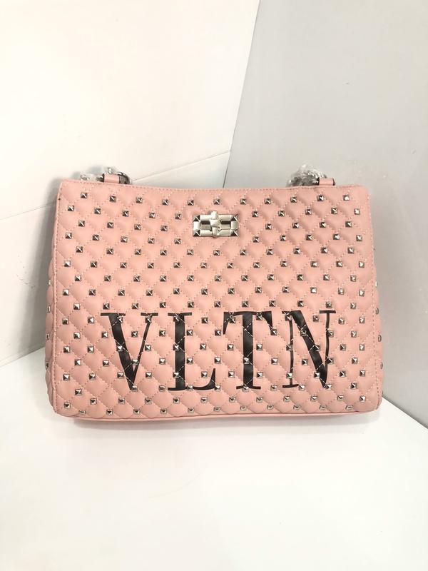 Женская   сумка в стиле valentino vltn валентино  цвета - Фото 3