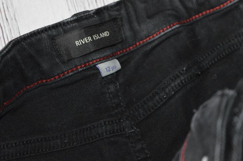 12 лет джинсы скинни river island - Фото 7