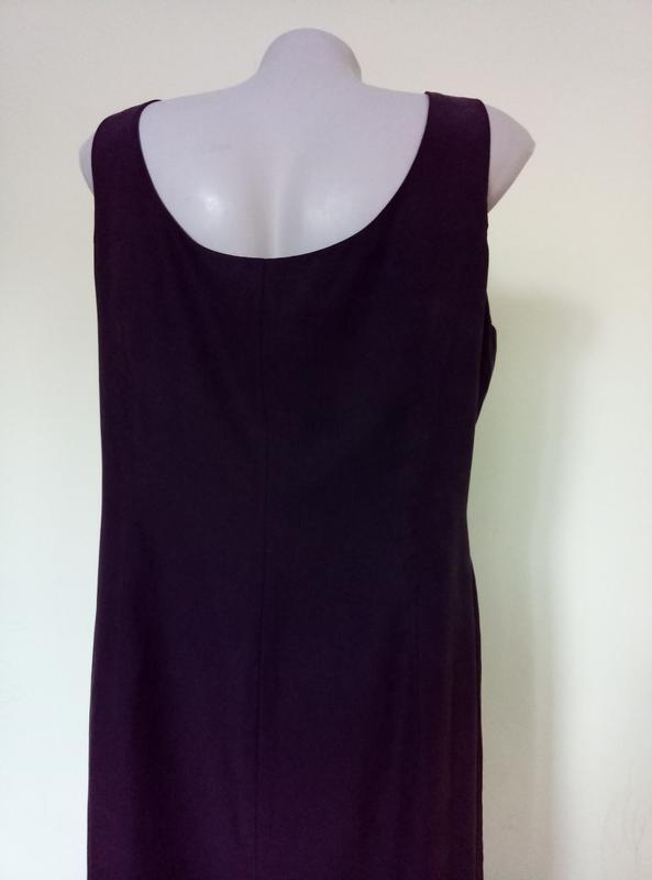 Шикарное шелковое платье с вышивкой - Фото 7