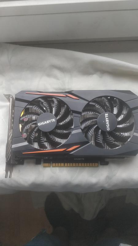 Видеокарта GIGABYTE GeForce GTX 1050 2gb - Фото 3