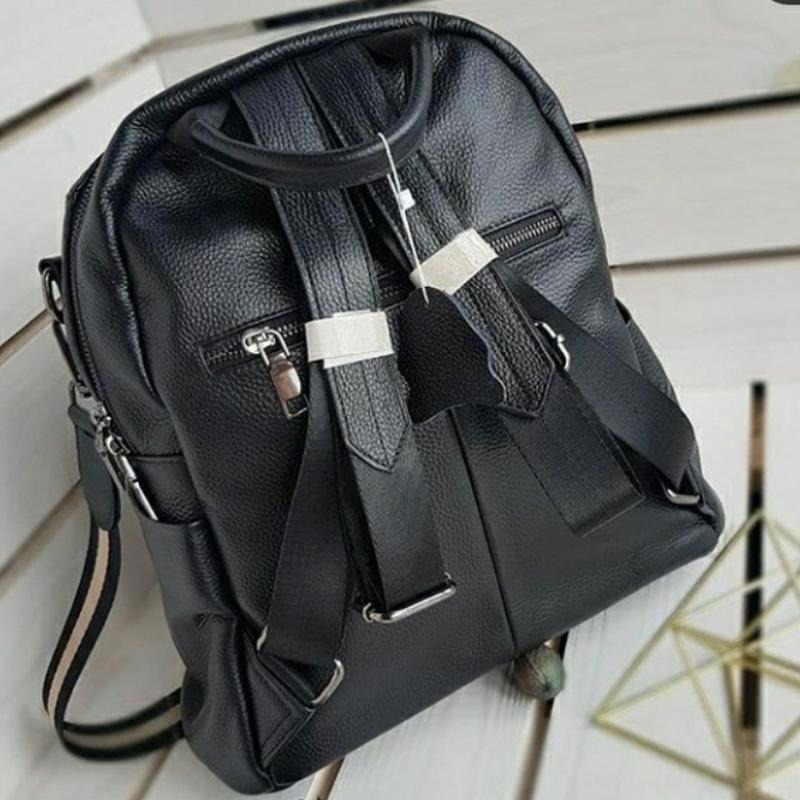 Женский кожаный рюкзак. - Фото 3