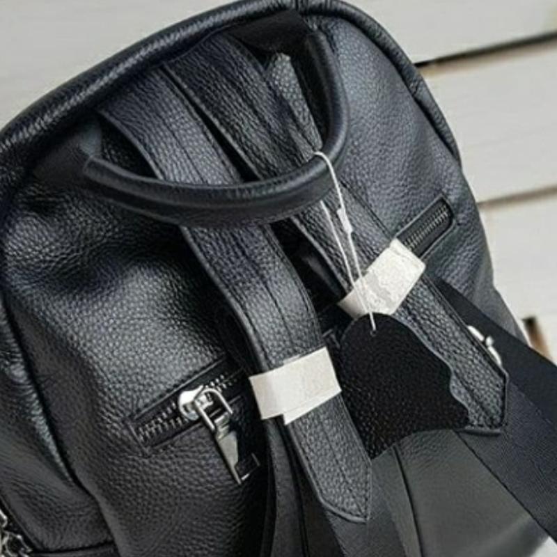 Женский кожаный рюкзак. - Фото 4