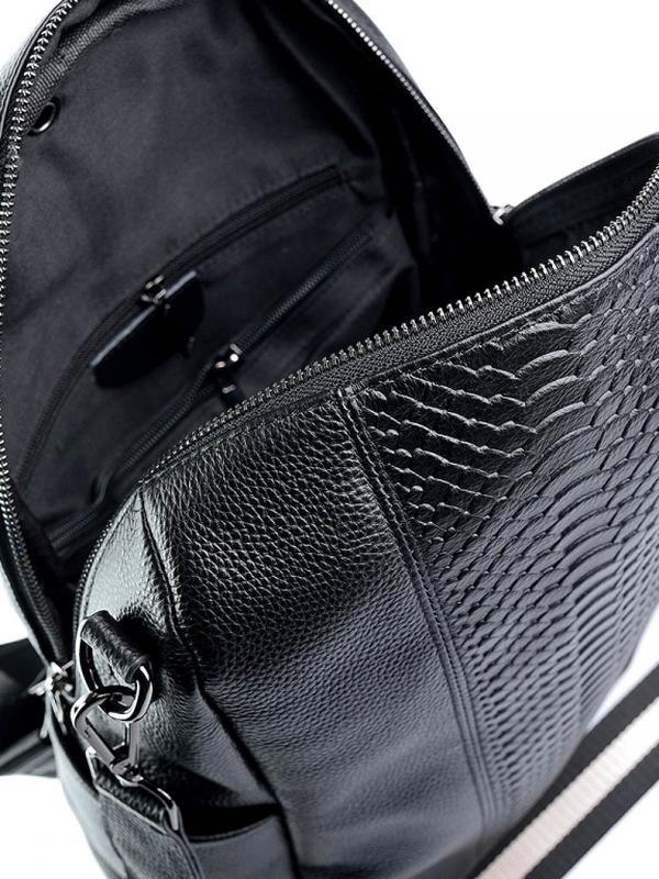 Женский кожаный рюкзак. - Фото 5