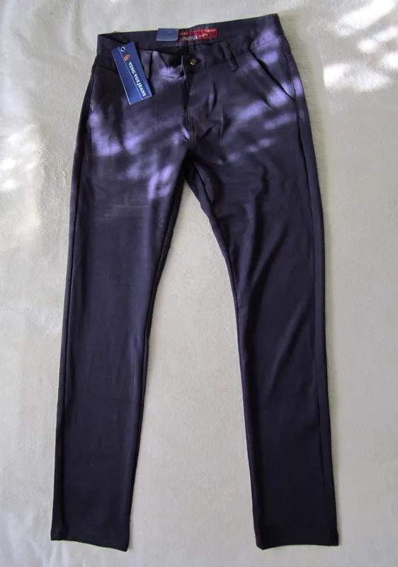 Мужские штаны брюки сливового цвета 29 размер - Фото 2