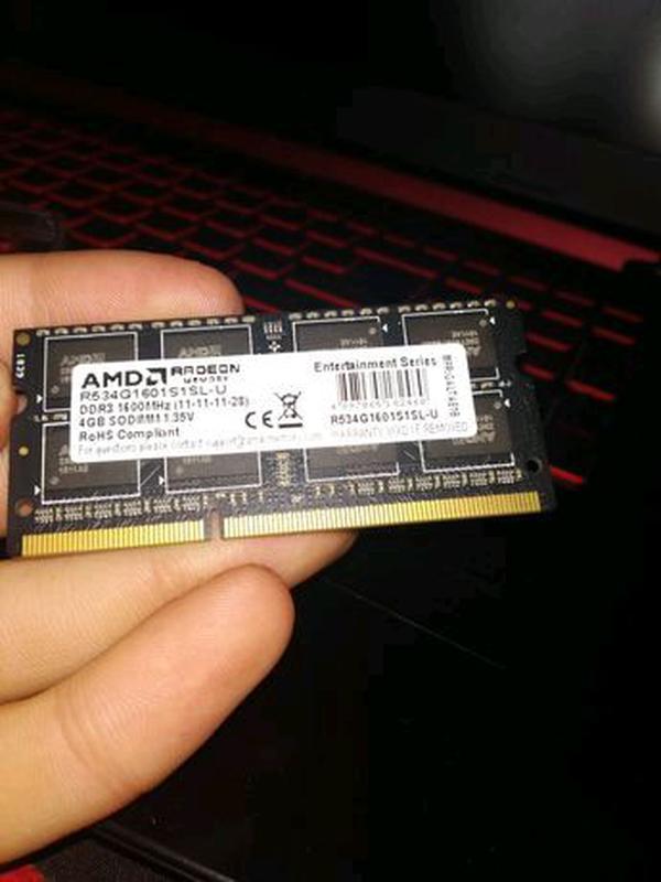 Озу AMD ddr 3 4 ГБ - Фото 3
