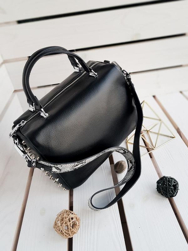Женская кожаная сумка - Фото 2