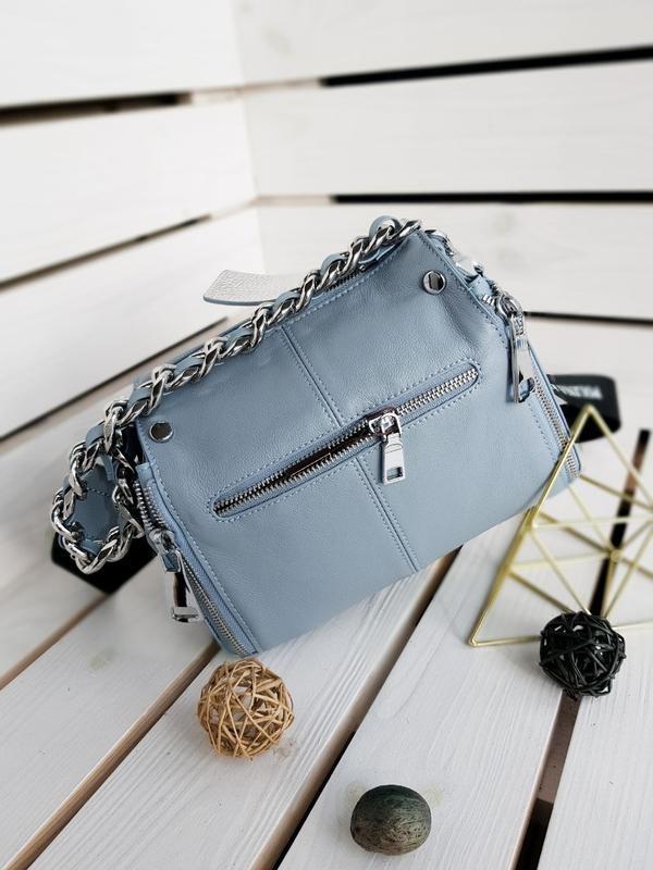 Женская кожаная сумка - Фото 4