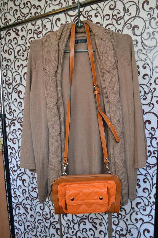 Классная , стильная сумочка, клатч в трендовом цвете. - Фото 5