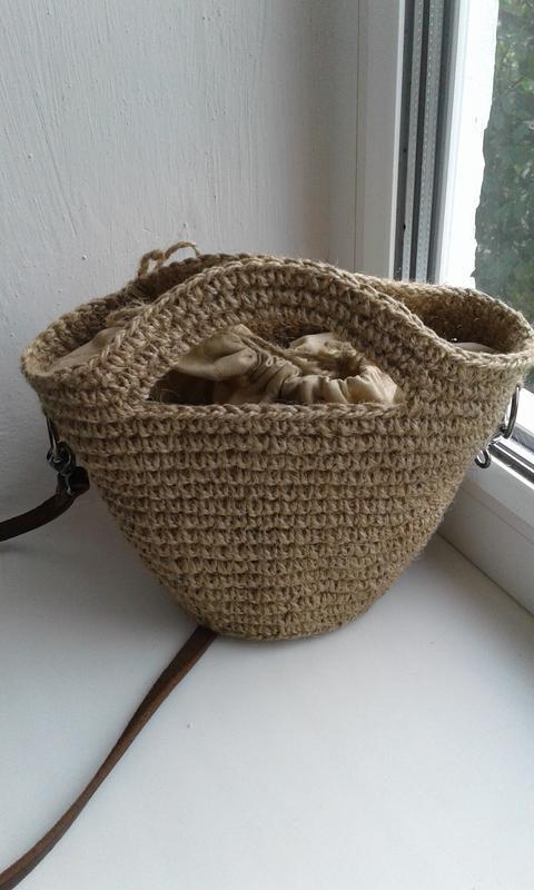 Плетеная сумка, сумочка  - хит лета - Фото 2