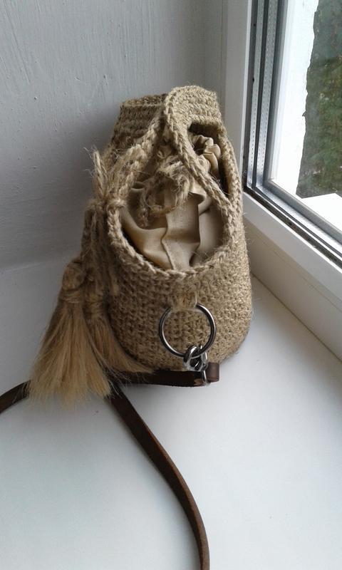 Плетеная сумка, сумочка  - хит лета - Фото 3