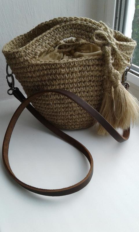 Плетеная сумка, сумочка  - хит лета - Фото 4