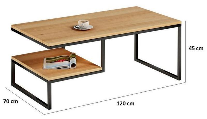 Кофейный журнальный столик от производителя - Фото 6