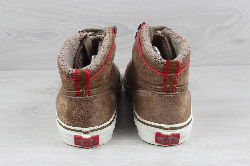 Теплые кеды / ботинки vans оригинал, размер 39 (all weather te... - Фото 6