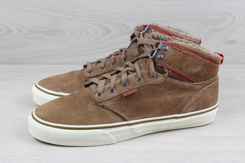 Теплые кеды / ботинки vans оригинал, размер 39 (all weather te... - Фото 7
