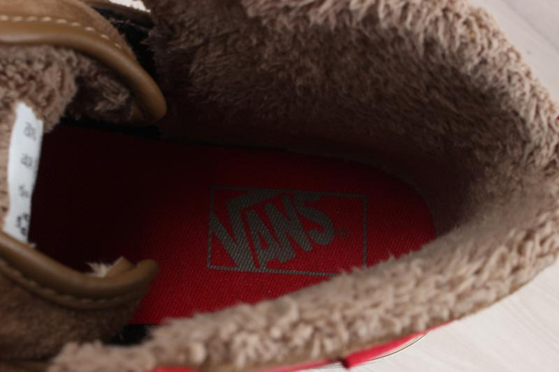 Теплые кеды / ботинки vans оригинал, размер 39 (all weather te... - Фото 8