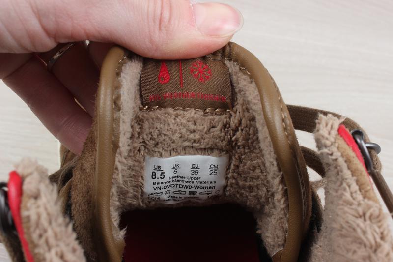 Теплые кеды / ботинки vans оригинал, размер 39 (all weather te... - Фото 9