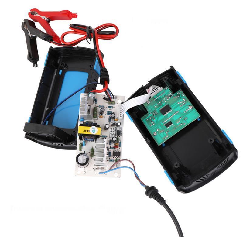 Импульсное зарядное устройство для автомобильного аккумулятора DC - Фото 4