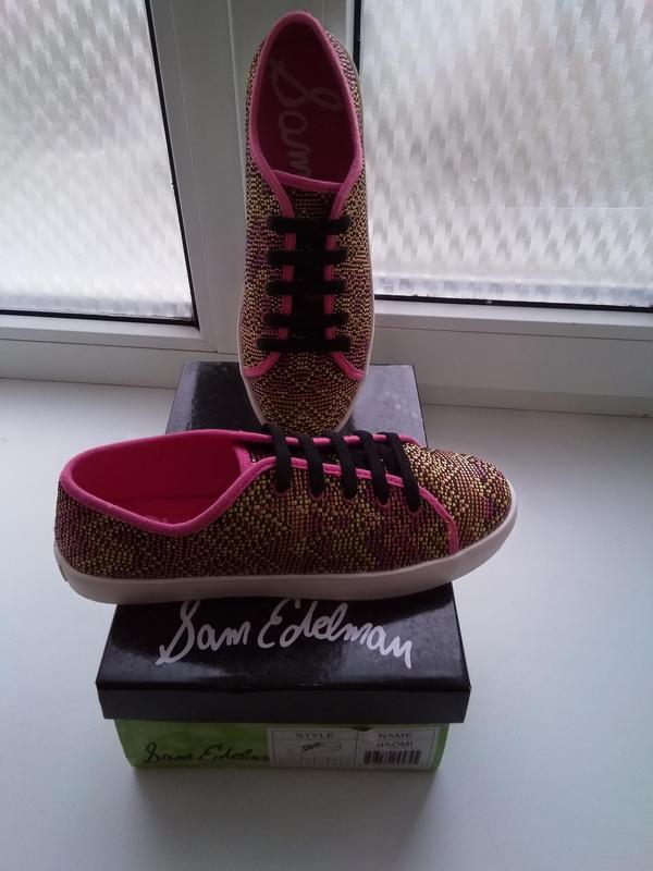 Новые мокасины sam edelman kids naomi sneaker оригинал размер ... - Фото 5