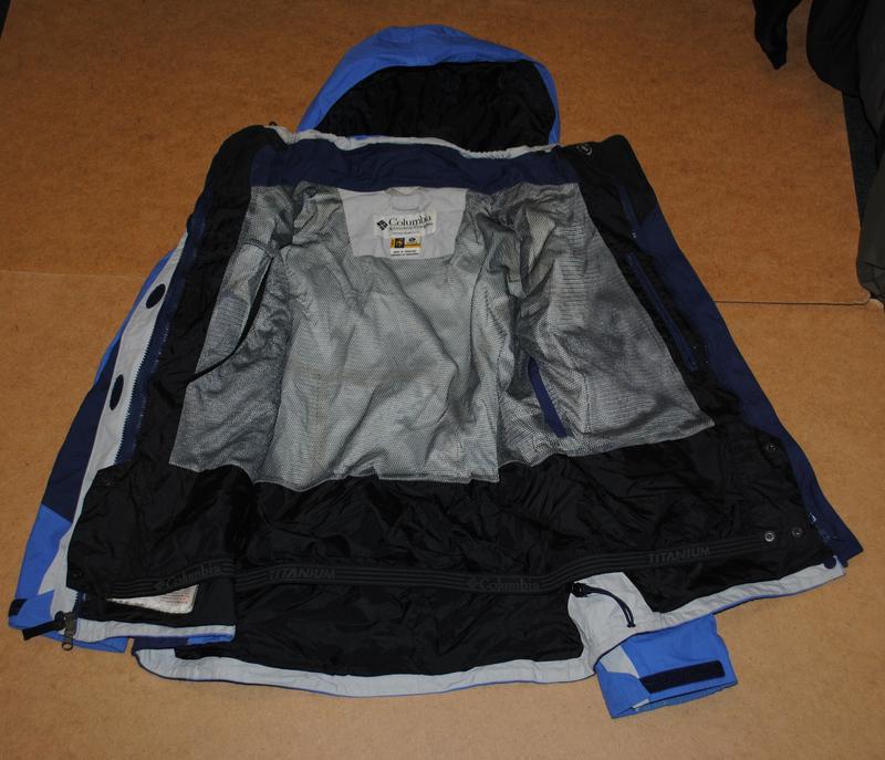 Columbia omni tech titanium jacket женская горнолыжная куртка ... - Фото 3