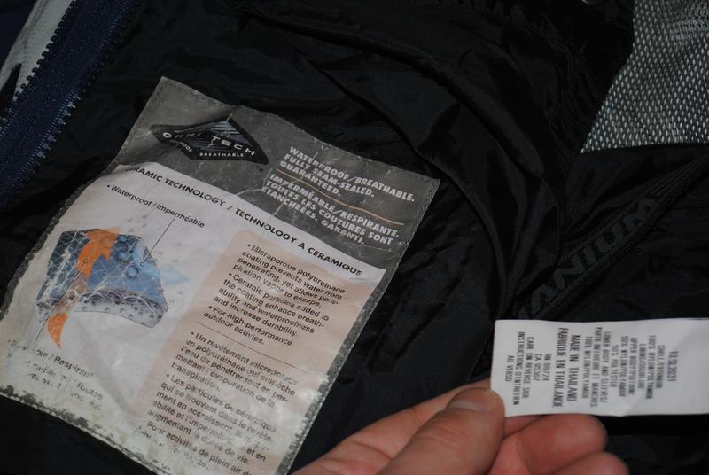 Columbia omni tech titanium jacket женская горнолыжная куртка ... - Фото 4