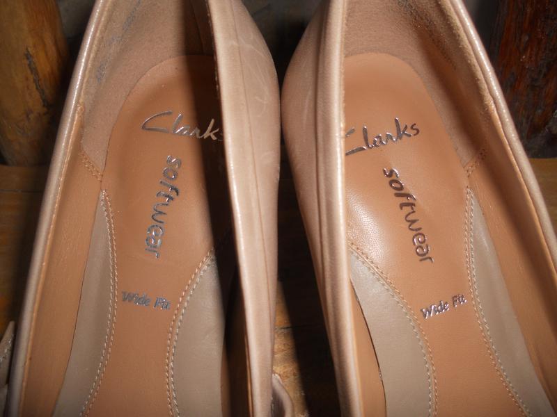 Комфортные туфли кларкс на широкую стопу - Фото 3