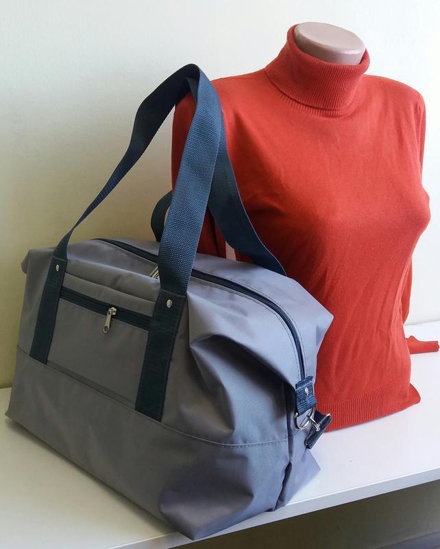 Дорожная спортивная сумка 40×25×20 ручная кладь легкая вместит...