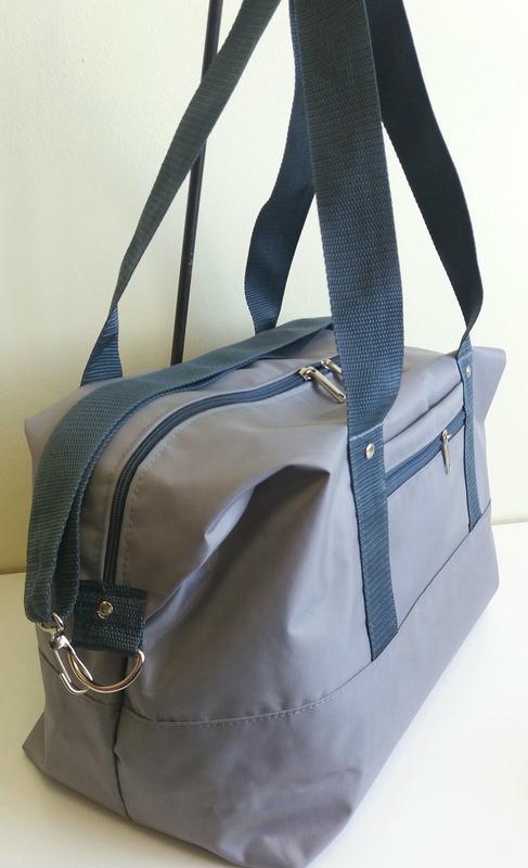 Дорожная спортивная сумка 40×25×20 ручная кладь легкая вместит... - Фото 2
