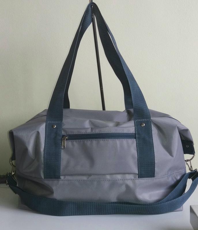 Дорожная спортивная сумка 40×25×20 ручная кладь легкая вместит... - Фото 3