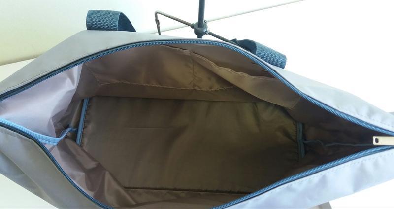 Дорожная спортивная сумка 40×25×20 ручная кладь легкая вместит... - Фото 5