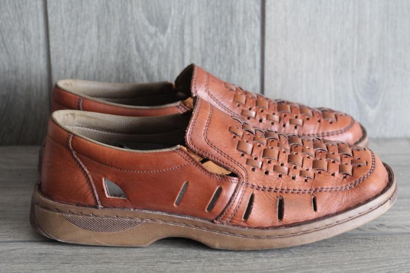 Легкие, кожаные, летние туфли rieker antistress 41 разм - Фото 2
